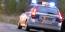 Pościg za złodziejem aut. Ranny policjant