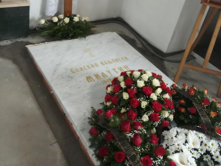 grob Vladike Milutina
