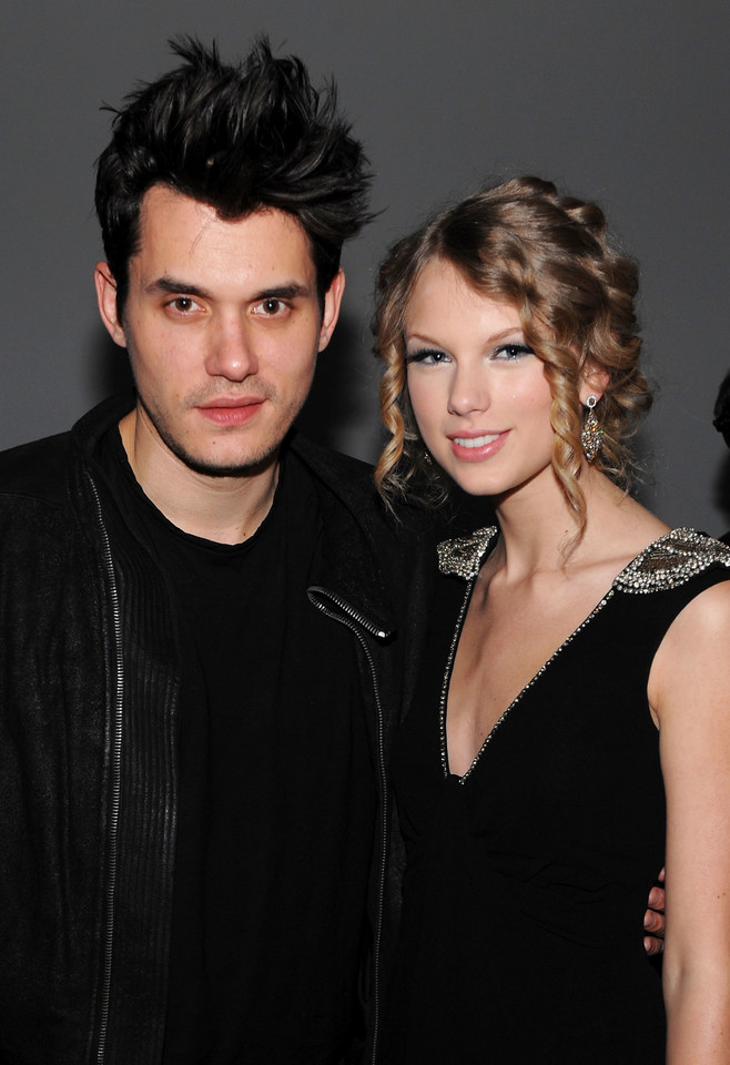 John Mayer z Taylor Swift w 2009 roku