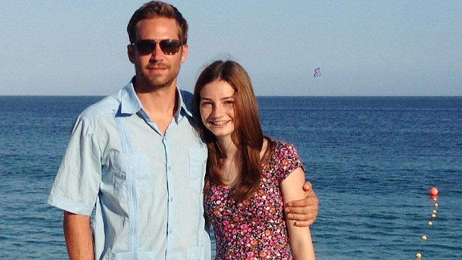 Paul Walker z córka Meadow Rain