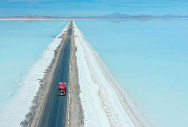 W Boliwii znajdują się największe na świecie złoża litu