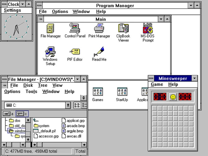 Windows 3 - 22 maja 1990 roku