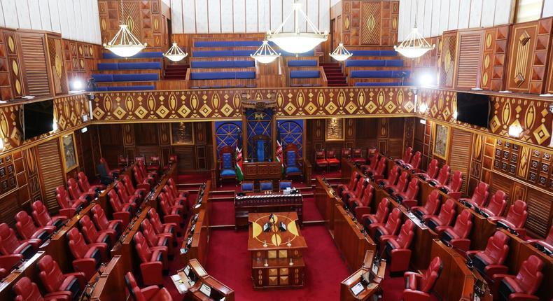 Kenya Senate chambers