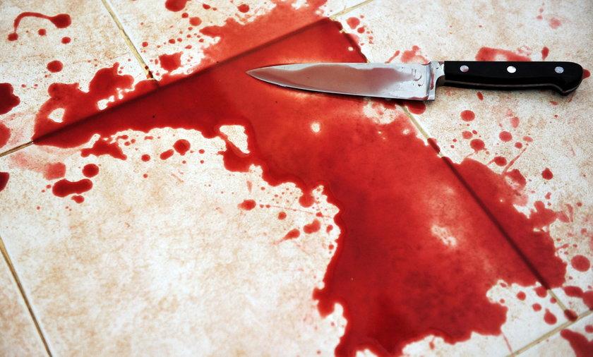 Dźgnął ojca nożem w szyję. Wcześniej się pokłócili