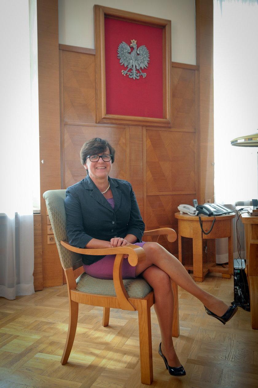 Joanna Kluzik Rostkowska, minister edukacji narodowej