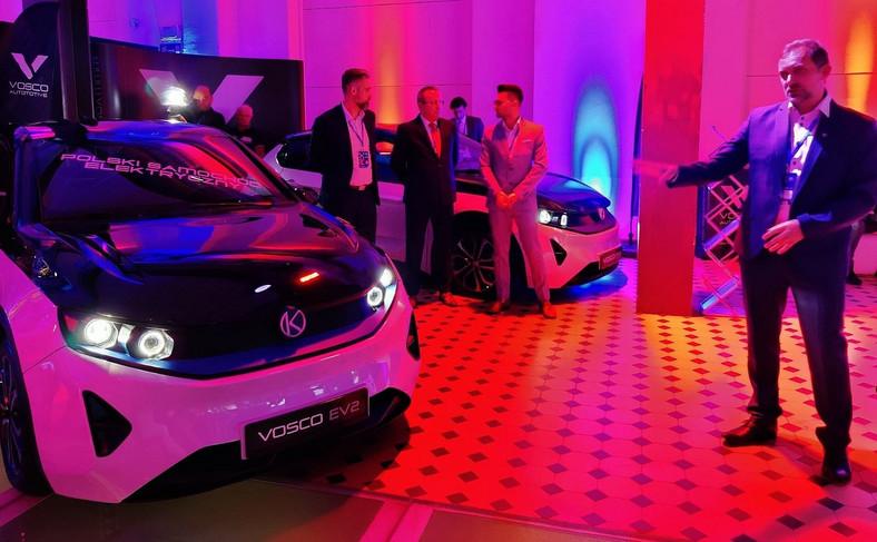 Vosco EV2 - podwójna premiera podczaspodczasKongresu Nowej Mobilności w Łodzi