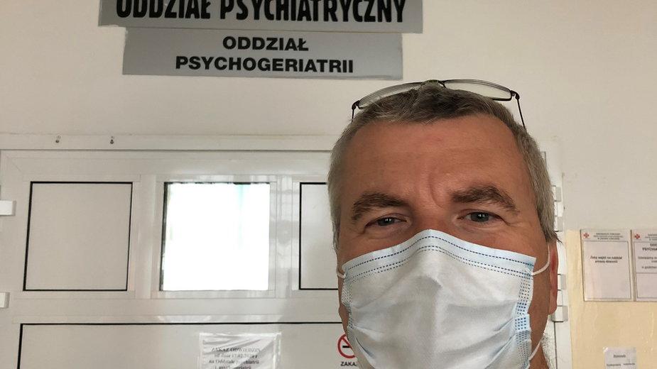 dr n. med. Grzegorz Opielak, psychiatra