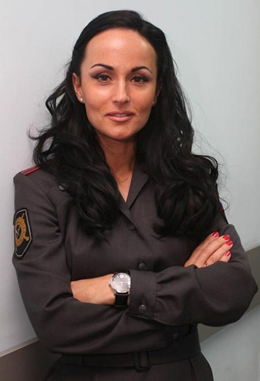 Policjantka Irina Volk