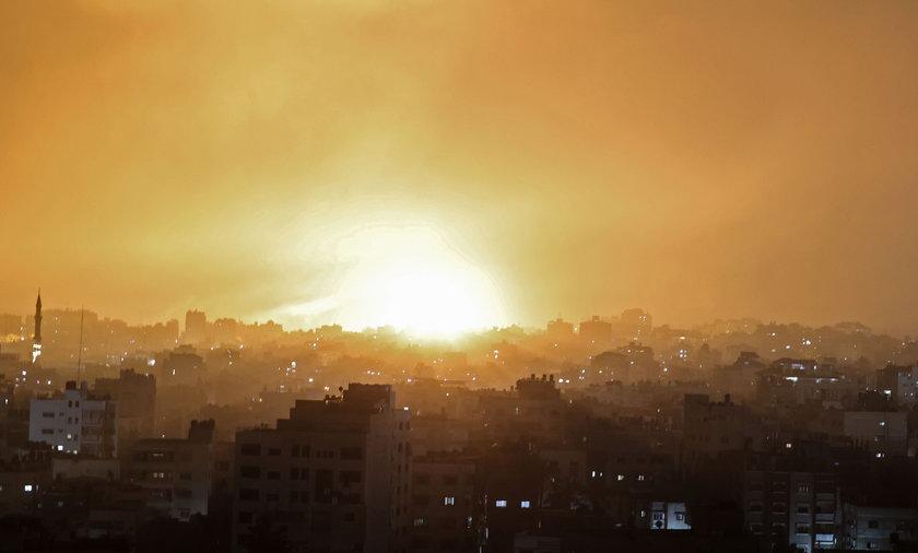 Ostrzał Strefy Gazy przez siły Izraela