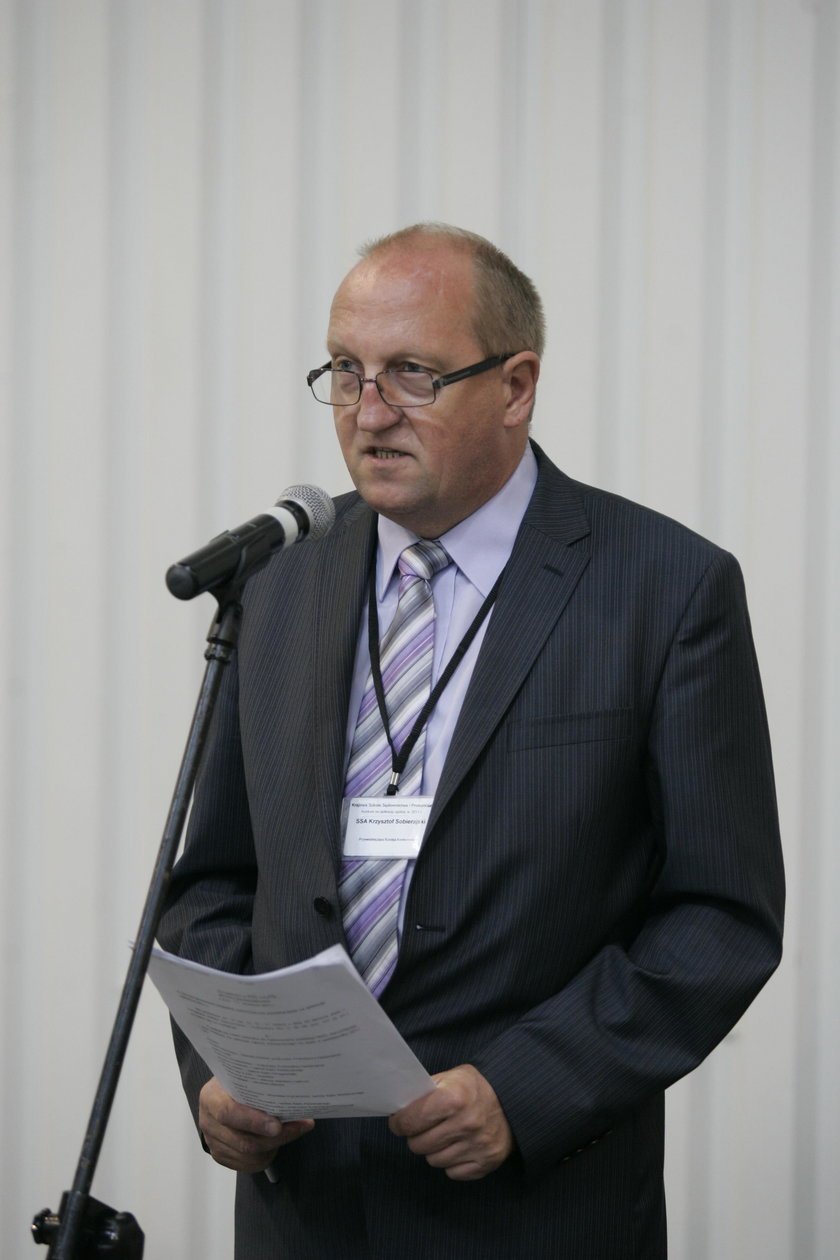 Sędzia Krzysztof Sobierajski