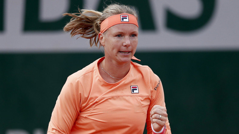Kiki Bertens na French Open