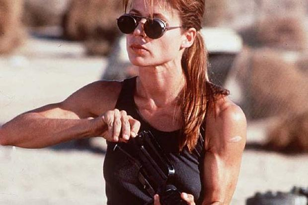 Linda Hamilton jako Sarah Connor