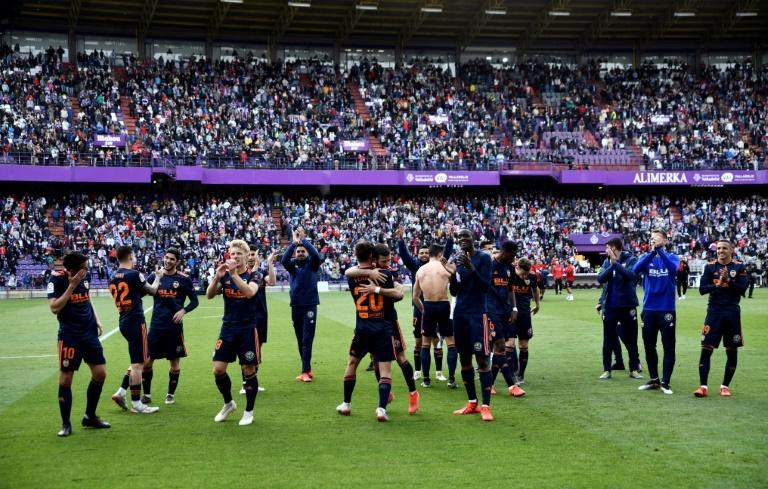 Valencia beat Real Valladolid last weekend to secure Champions League qualification.