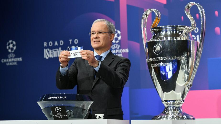 Losowanie fazy pucharowej Ligi Mistrzów