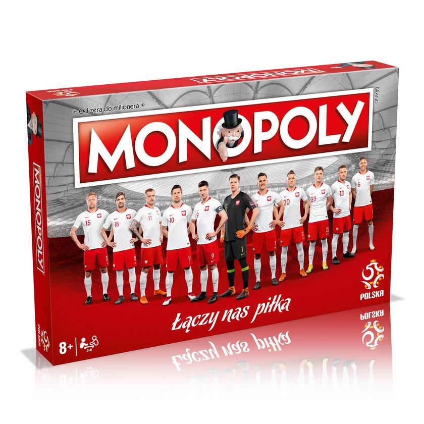 Gra Monopoly z polską reprezentacjąw piłkę nożną