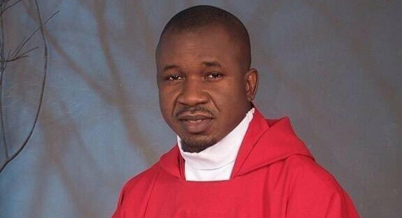 The late Rev Father Jude Udochukwu Iroleh (Chinedu Ekeke)