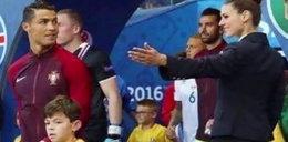 Zauroczyła Ronaldo przed meczem z Islandią. Kim jest piękna hostessa?