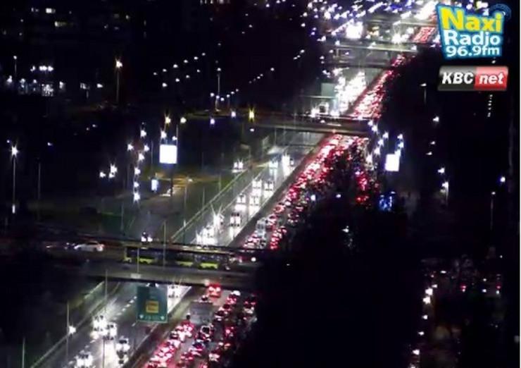 Mostovi kolpas Autoput Novi Beograd