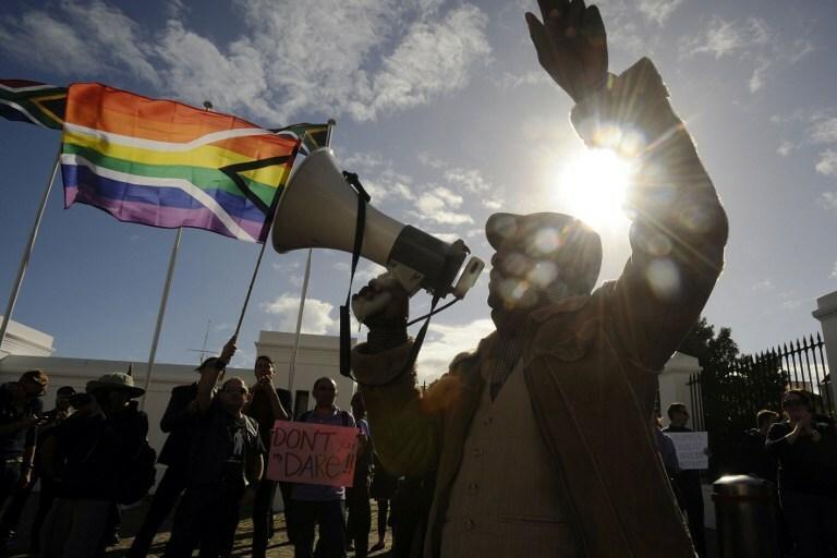 Manifestacja LGBT w Cape Town, RPA