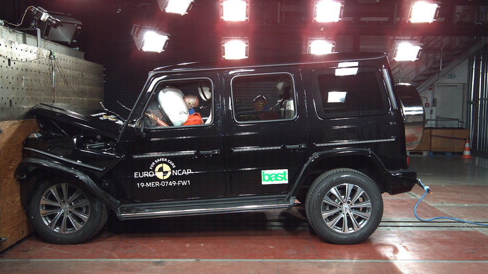 Crash-test Mercedes Klasa G