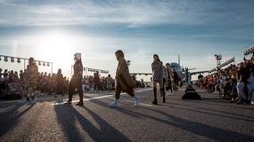 Jedyny w swoim rodzaju pokaz mody na pasie startowym lotniska w Helsinkach