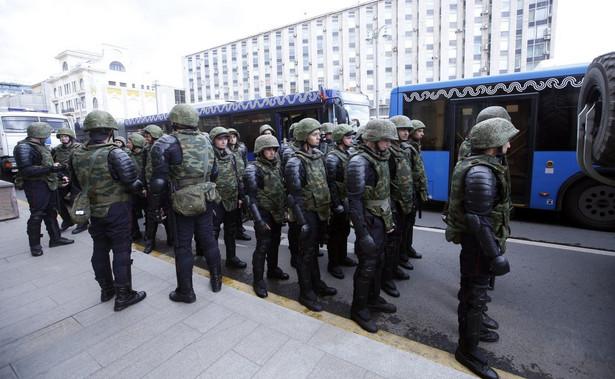 W środę alarmy bombowe odnotowano w Moskwie m.in. na dworcach kolejowych, w hotelach, budynkach uniwersyteckich i centrach handlowych.