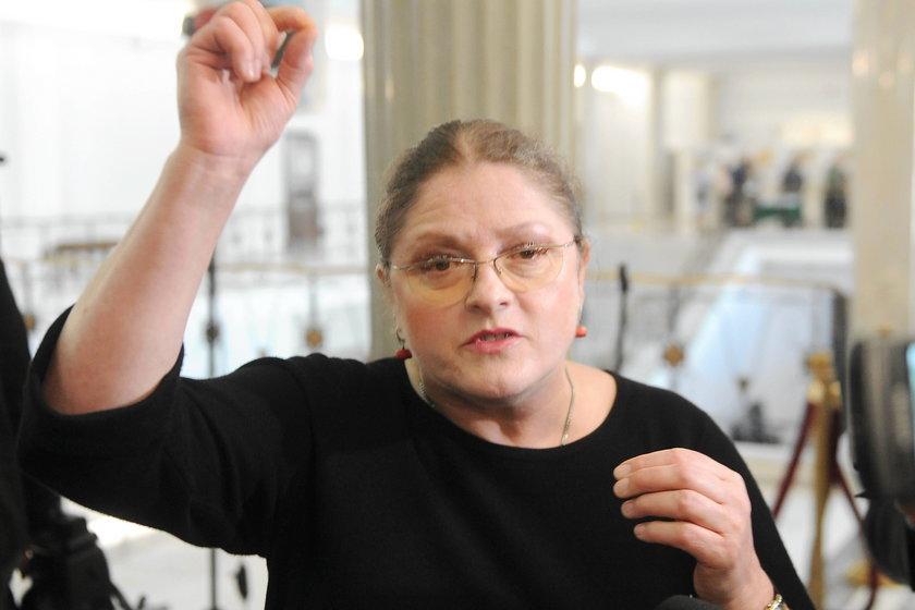 Prof Krystyna Pawłowicz, posłanka PiS