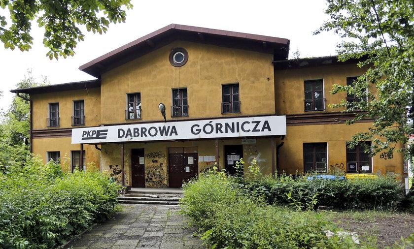Dworzec Dabrowa Gornicza.