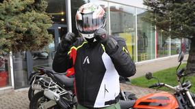 Adrenaline Asymetric - sportowa kurtka tekstylna na motocykl