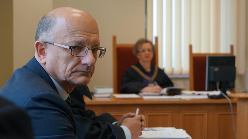 S. Białach - Krzysztof Żuk w sądzie