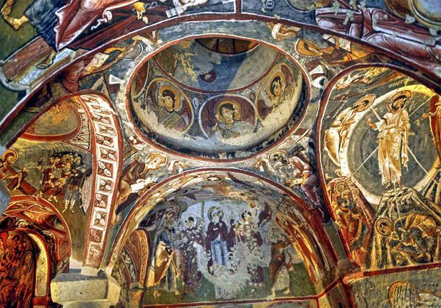 Kościoły i monastery w Kapadocji. Najpiękniejsze miejsca Turcji