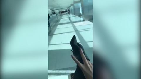Karleuša u jeku pisanja o razvodu napustila Srbiju, a ovako se ponašala na aerodromu!