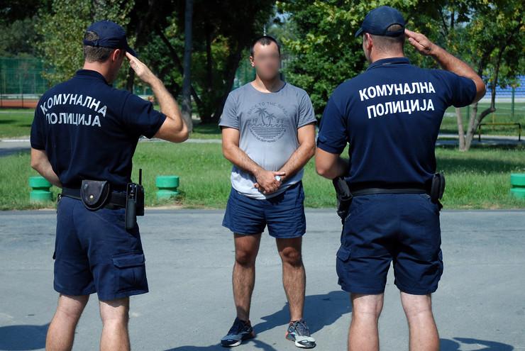 komunalna milicija Komunalna policija _RAS foto Predrag Dedijer
