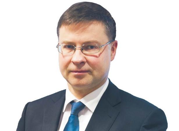 Valdis Dombrovskis, wiceprzewodniczący wykonawczy Komisji Europejskiej