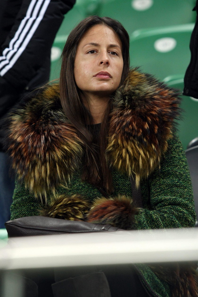Piękna żona bohatera Legii Warszawa