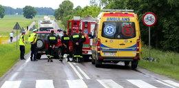Tragedia koło Chojnic. Karetka śmiertelnie potrąciła rowerzystkę