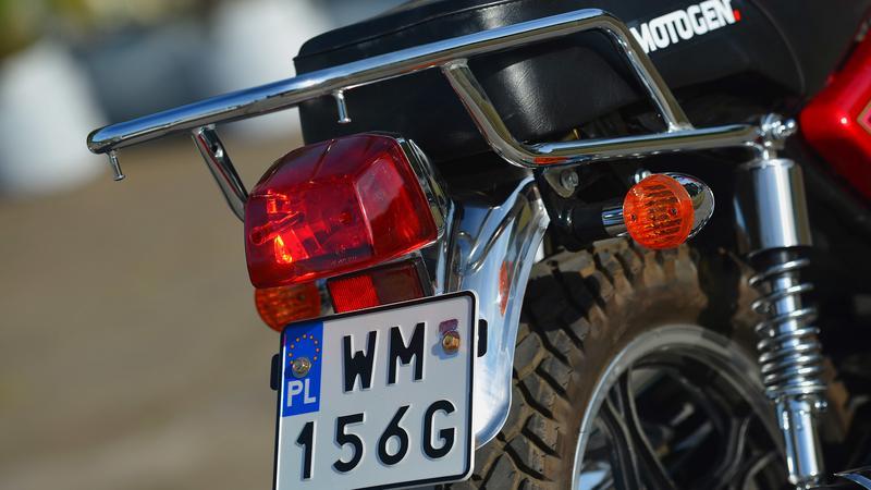 Rejestracja motocyklowa
