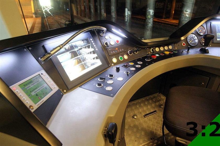 Tak prezentują nowe pociągi WKD
