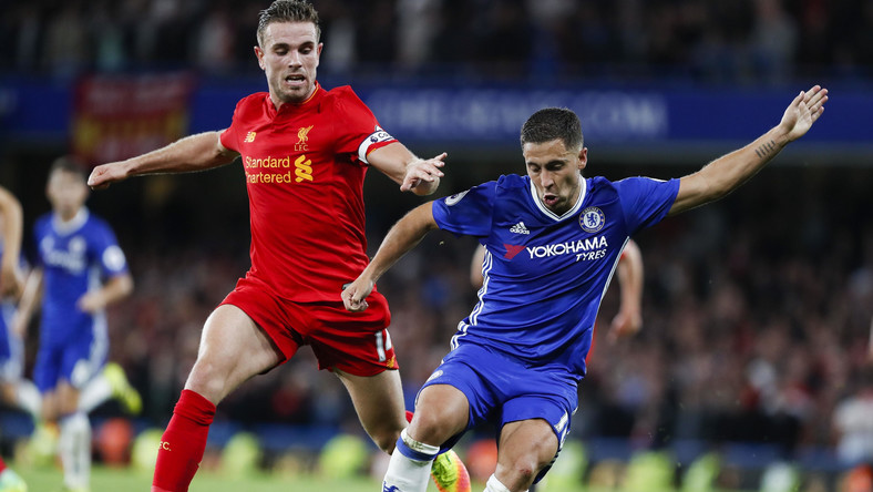 English Premier League Match Between Chelsea And Liverpool