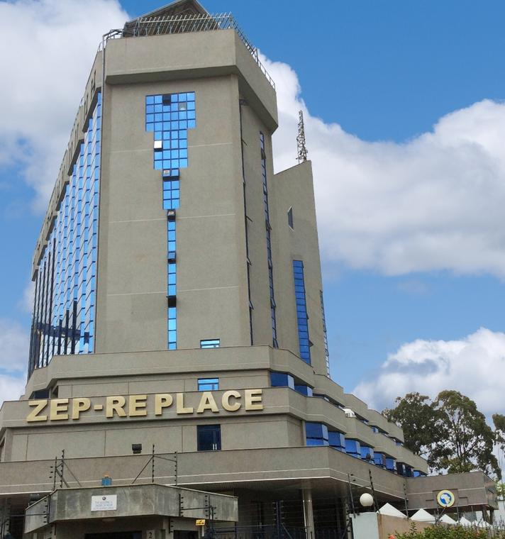 ZEP-RE (PTA Reinsurance Company) towers in Nairobi,Kenya.
