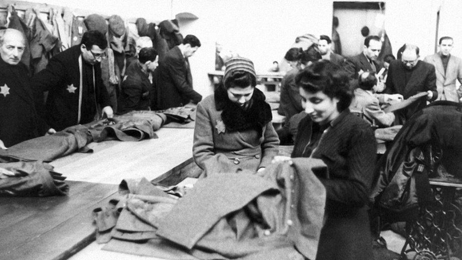 Kobiety w łódzkim getcie (1941 r.)