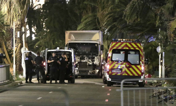 Zamach terrorystyczny w Nicei.