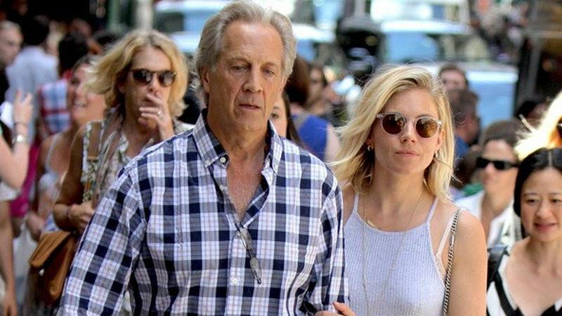 Sienna Miller z tatą