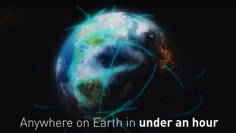 Elon Musk przedstawia: rakietowe podróże ziemia-ziemia