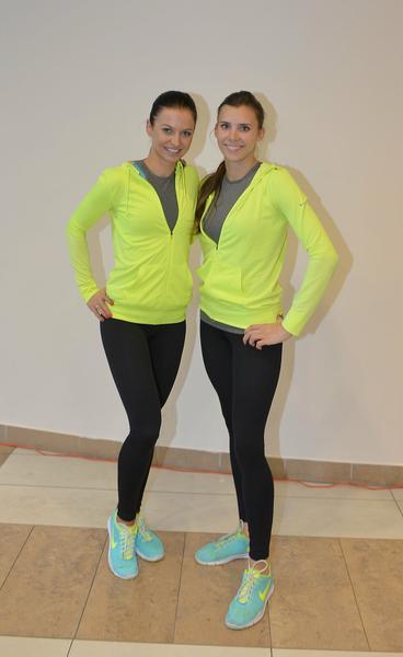 Anna Lewandowska i Adrianna Palka