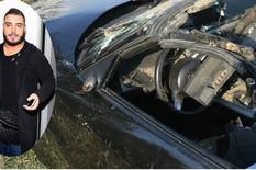 """""""ČUDO JE ŠTO JE PREŽIVEO, KAD JE AUTOMOBIL OVAKO UNIŠTEN"""" Olupina BMW-a Darka Lazića svedoči o STRAVIČNOJ NESREĆI (FOTO, VIDEO)"""