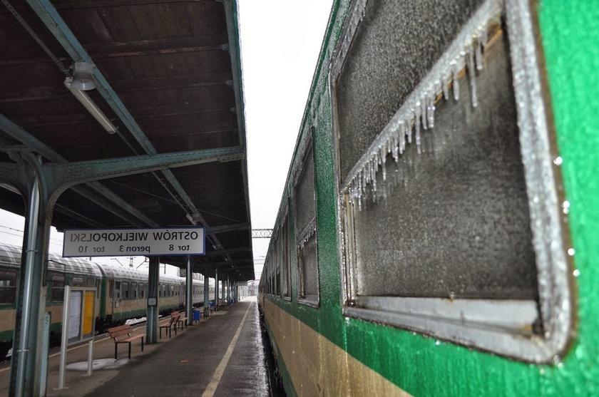 Zima w tym tygodniu sparaliżowa kolej