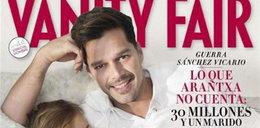 """Ricky Martin: """"Jestem mamą i tatą"""" - sesja z dziećmi"""