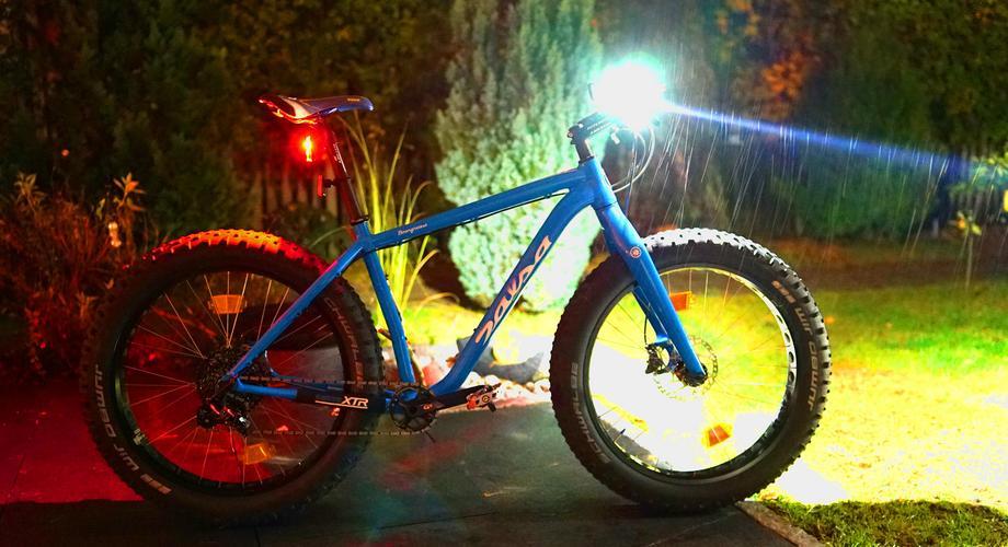 fahrrad licht leuchten