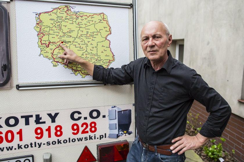 Zygmunt Kuś z Pleszewa  wyrusza w kolejną podróż